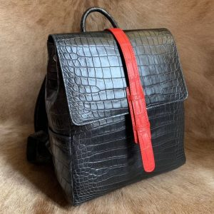 Alligator Messenger Bag Travel Bag