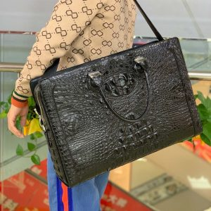 Crocodile Travel Bag Luggage Strap