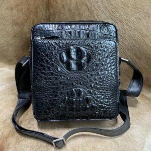 Genuine Crocodile Leather Single Shoulder Bag