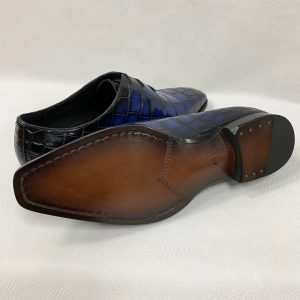 Glossy Alligator Pattern Oxfords Dress Shoes