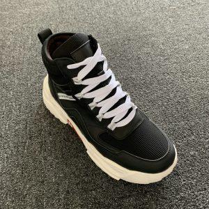 Men's Platform Mesh Shoes Athletic Gym Sneakers