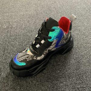 Mens Mesh Essential multicoloured Sneaker
