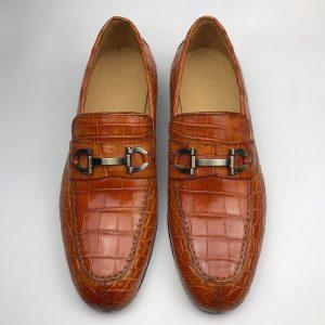Casual Crocodile Slip On Basic Classic Style