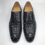 Men's Crocodile Derby Dress Shoes