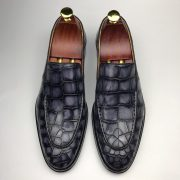 Men's Loafers Crocodile Formal Classic Dress Shoes