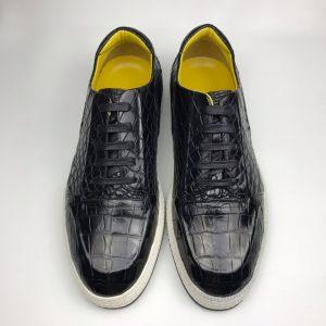 Crocodile Men's Round Toe Casual Shoes