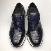 Crocodile Genuine Leather Derby Handmade Shoes