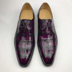 Exotic Men's Crocodile Hand-Picked Derby Collection