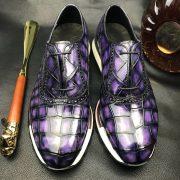 Crocodile Classic Slip-On Platform Sneaker