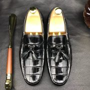 Decorated Penny Loafers Low Heels Daily Shoe