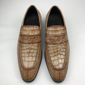 Mens Croc Skin Original Designer Style