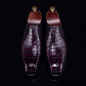 Men's Loafer Slip On Crocodile Classical Shoes