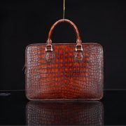 Crocodile Leather Handbag Briefcase