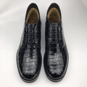 Mens Exotic Print Lace Up Shoes