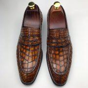 Crocodile Men's Slip On Formal Classic Shoes