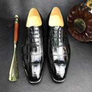 Crocodile Oxford Dress Shoes Men's Formal Classic Design