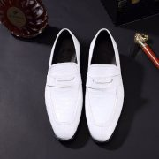 Crocodile Leather Classic Fashion Anti-Slip Boat Shoes
