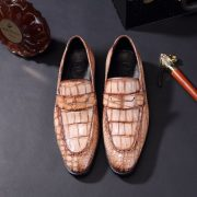 Men Slip-on Business Crocodile Lightweight Flat