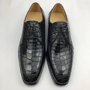 Genuine Crocodile Leather Vintage Handmade Shoes