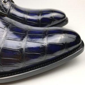 Fashion Men's Crocodile Trend Leather Formal Shoes