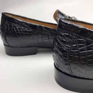 New Fall Crocodile Classic Slip On Penny Shoe