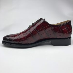 Oxford Crocodile Dress Shoes Comfortable Classic Design