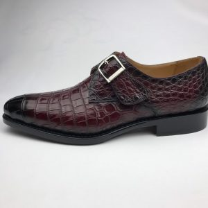 Crocodile Leather Moccasins Loafer