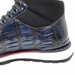 Men's Classic Crocodile Fashion Sneaker