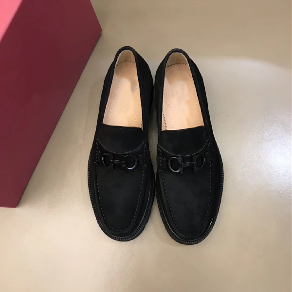 Custom Walk Suede Loafer Shoe Comfort Flat Mens Slippers