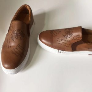Men Soft Driving Loafers Leather Boat Shoes