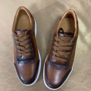 Luxury Mens Custom Leather Trainers