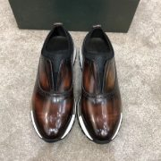 Men Leather Running Sport Casual Oxford Shoes