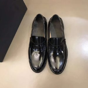 Classic Man Leather Shoe Casual Loafers