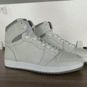 Grey and Beige High Top AJ style Sneakers MBS105