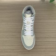 Grey and Beige AJ x D style oil edge process Sneakers Shape MBS114
